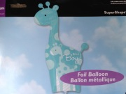 Baby Boy Giraffe Balloon