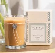 White Iris Votivo Candle