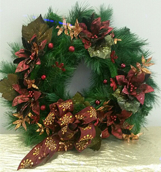 Cumberland Flowers Christmas Wreath Indianapolis, IN, 46229 FTD ...