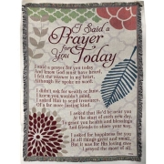 I Said A Prayer for you Today Throw