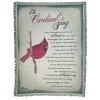 The Cardinal's Song Throw