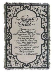 Amazing Grace Throw