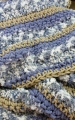 Blue Textures Afghan