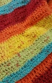 Rainbow Brights Afghan