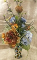 Mosaic Vase Silk