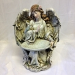 Angel with Birdbath (Large)