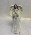 Angel- White Dress with Crystals