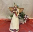 Rustic Christmas Angel with Cross