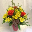 Vibrant Fall Day Bouquet