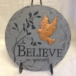 Believe in Yourself Plaque on Stand