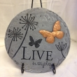 Live Simply Plaque on Stand