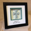 May faith light your path Decorative Frame