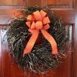 Black Berry Wreath- Halloween Décor