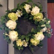 Shades of White Artificial Wreath