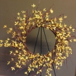 Yellow Rays of Cheer Forsythia Wreath