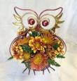 Metallic Owl Arrangement