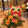 Red Owl Fall Arrangement