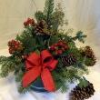 Season's Greetings Holiday Arrangement