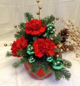 Captivating Christmas Bouquet