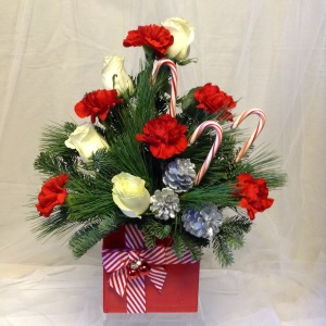 Candy Cane Celebration Bouquet
