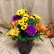 Autumn's Beauty Lantern Arrangement - Weekly Special