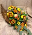 Plentiful Harvest Cornucopia Arrangement