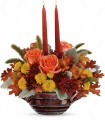 Teleflora Celebrate Fall Centerpiece