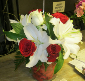 Whiting flower shop ffa 10 131 whiting in 46394 ftd florist flower a garden arrangement done in a terra cotta pot is ready for any occasion with roses casablanca lilies and curly willow are sure to fill the air with mightylinksfo