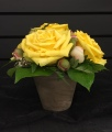 The Bates Signature Rose Pot