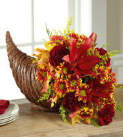 The FTD� Fall Harvest� Cornucopia by Better Homes and Gardens�