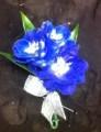 Blue Delphinium Boutonniere