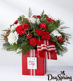 Flower house iii dayspring jesus is the gift bouquet by ftd dayspring jesus is the gift bouquet by ftd mightylinksfo