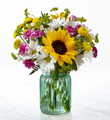 Le bouquet Sunlit Meadows™ de FTD®