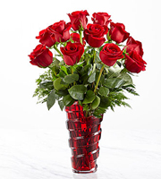 The FTD® In Love with Red Roses™ Bouquet - Deluxe