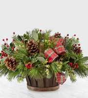 The FTD® Holiday Homecomings™ Basket