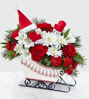 The FTD® Dashing Through the Snow™ Bouquet