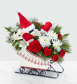 The FTD® Dashing Through the Snow™ Bouquet