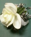 Open Rose Corsage