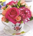 Tea Cup Bouquet