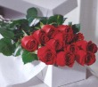 Mrs Flowers Dozen Roses Gift Boxed