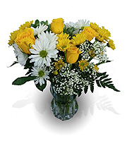 Flowers By Bauers Send Some Sunshine Bouquet