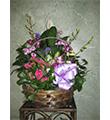 Spring Garden Plant Basket