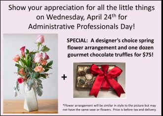 Administrative Professionals Special