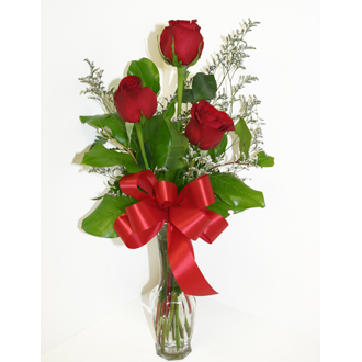 Coborn 39 s cashwise 3 rose bouquet ftd florist flower and gift delivery - Bouquet de rose artificielle ...