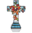 Floral and Vine Cross Table Lamp $115.00