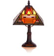 Small Mission Table Lamp $80.00