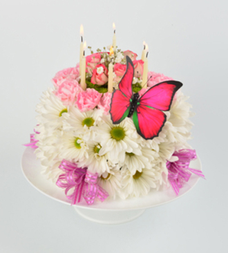 Schnucks Florist And Gifts Birthday Girl Cake Saint Louis MO 63132