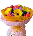 Mixed Cut Flowers Colorful