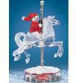 Coca-Cola Carousel Horse Figurine Cantor