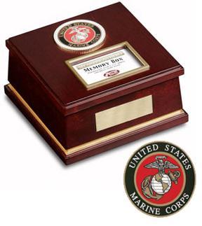 My American Hero Keepsake Box - Marines